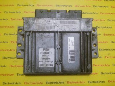 ECU Calculator motor Citroen Xsara 1.8 9632727280, 9640514780