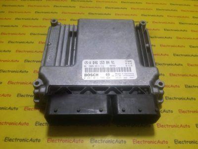 ECU Calculator motor Mercedes Vito 2.2CDI 0281011789, A6461530491