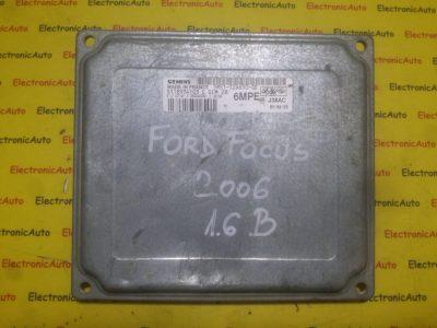 ECU Calculator motor Ford Focus 1.6 5M5112A650GE, S118934103E