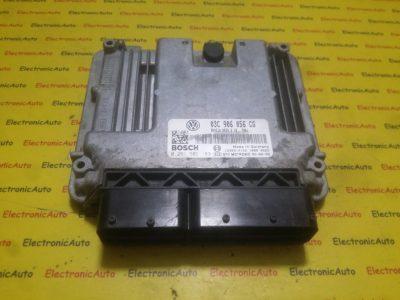 ECU Calculator motor VW Golf5 1.6 0261S02183, 03C906056CG