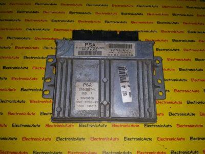 ECU Calculator motor Peugeot 206 1.4 9643134680, 9637706180-05