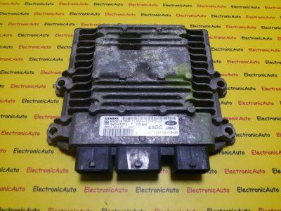 ECU Calculator motor Ford Fusion 1.4TDCI 2N1A12A650AD, 5WS40031DT