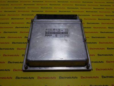 ECU Calculator motor Mercedes Sprinter 2.2CDI 0281011747, A6111531191