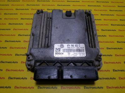 ECU Calculator motor VW Crafter 2.5TDI 0281012543, 074906032E