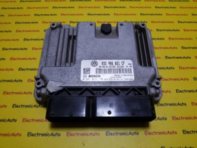 ECU Calculator motor VW Eos 2.0TDI 0281013170, 03G906021CF