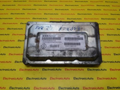 ECU Calculator Renault, 8200306333, YZFB024826