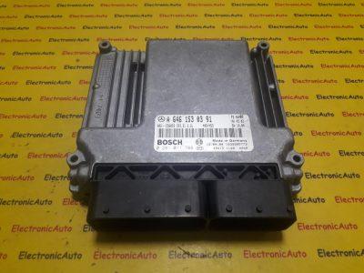 ECU Calculator motor Mercedes Vito 2.2CDI 0281011788, A6461530391