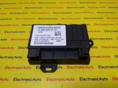 Modul Control Pompa Combustibil Mercedes, A0009003101, A2C53406807