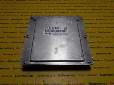 ECU Calculator motor Mercedes C220 2.2CDI 0281010798, A6111538179