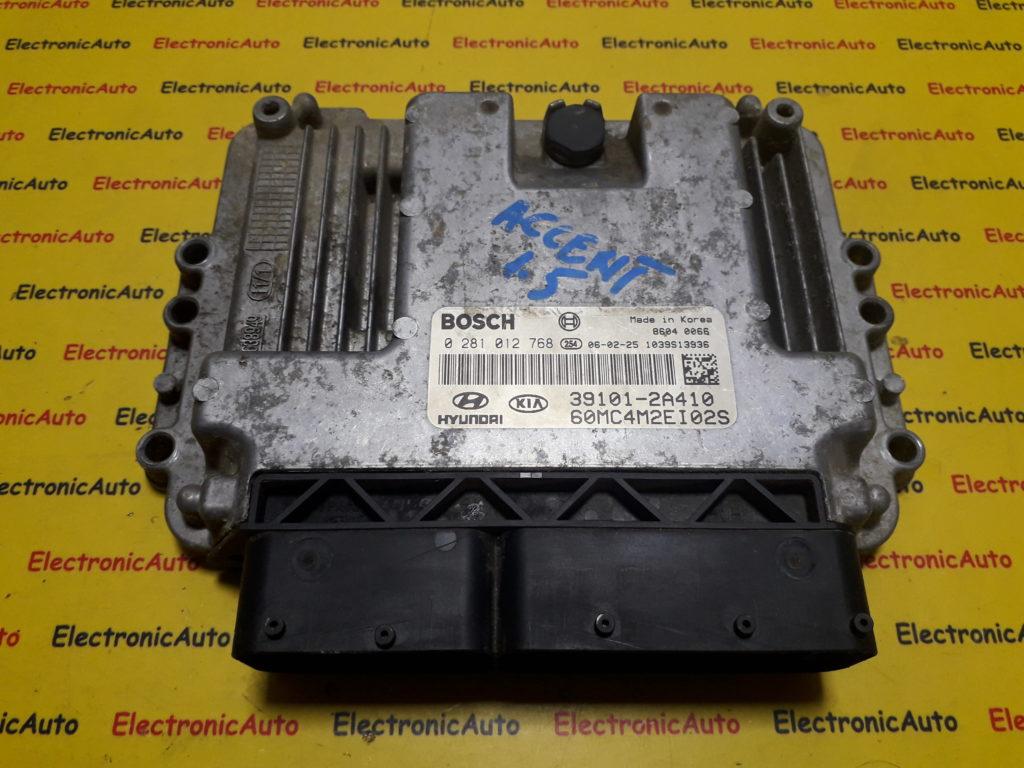 ECU Calculator motor Hyundai Accent 1.5CRDI 391012A410, 0281012768
