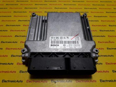 ECU Calculator motor Mercedes E220 2.2CDI 0281011328, A6461534179