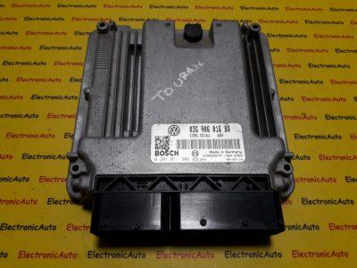 ECU Calculator motor VW Touran 2.0TDI 0281011906, 03G906016BQ