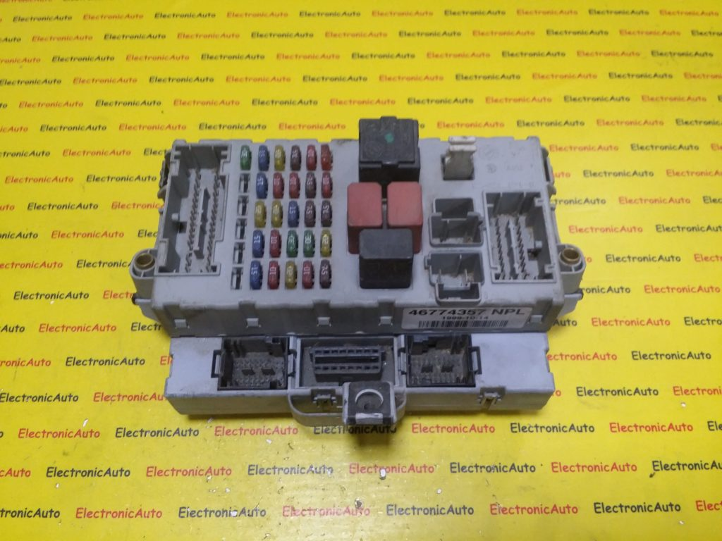 Panou Sigurante + Imobilizator Fiat, 46774357NPL, 46774360CPL, 46774360