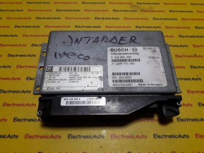 Calculator intarder DAF, RENAULT XF95 0260001028, ZF6009371001