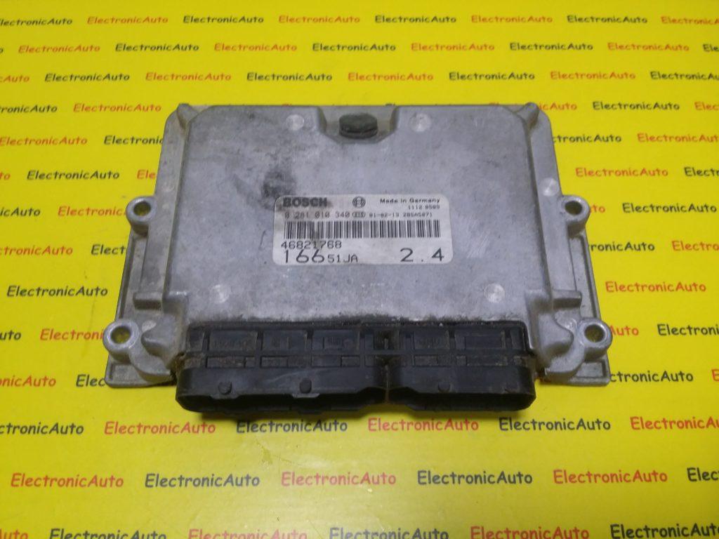 ECU Calculator Motor Alfa Romeo 166 2.4JTD, 0281010340, 46821768, 16651JA