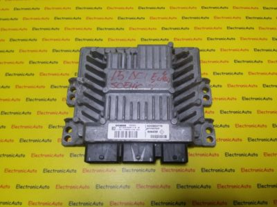 ECU Calculator Motor Renault Megane 1.5 DCI, 8200804775, 8200807626, S122326113A