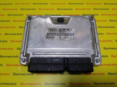 ECU Calculator Motor Audi A4 2.5 TDI, 0281011135, 8E0907401Q