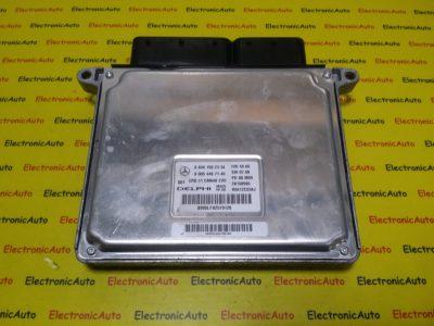 ECU Calculator Motor Mercedes C220 2.2CDI, A6461502334, A0054467140