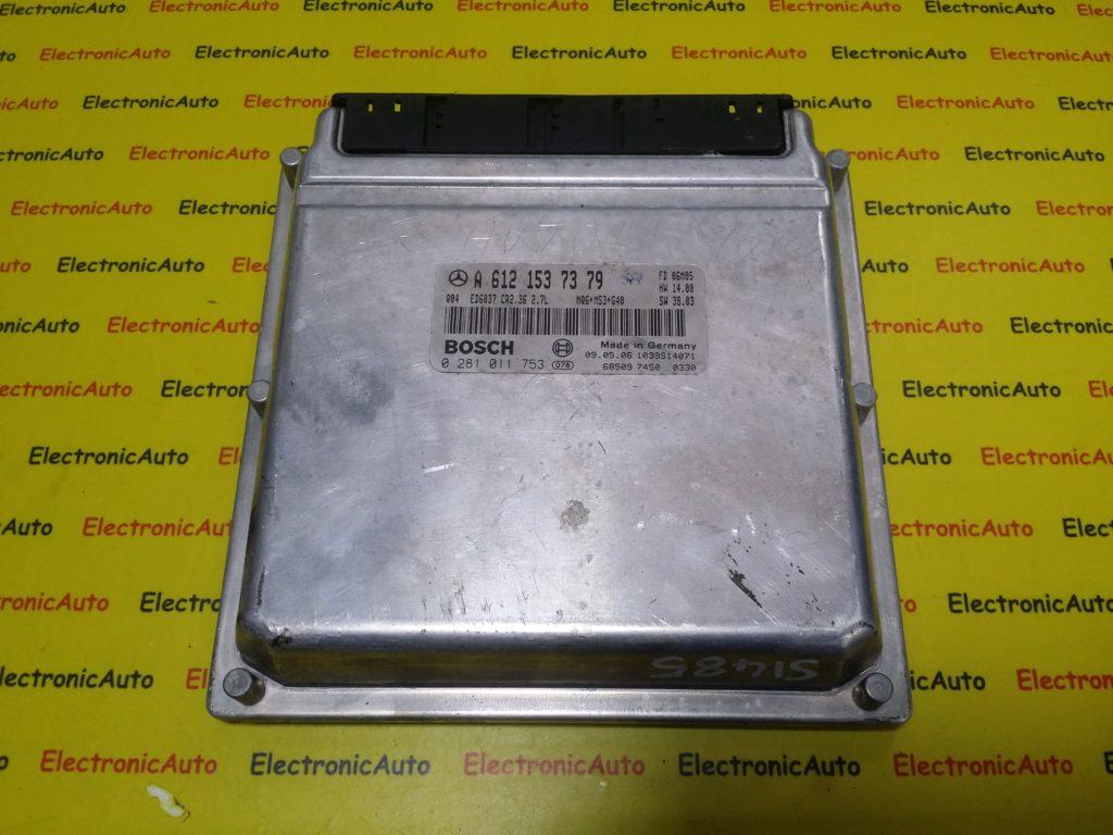 ECU Calculator Motor Mercedes, A6121537379, 0281011753, CR2.36