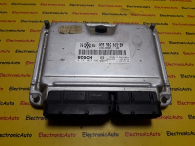 ECU Calculator motor VW Passat 1.9TDI 0281010404, 038906019BN