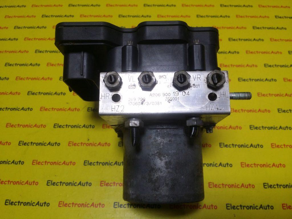 Pompa ABS Mercedes Sprinter, Vw Crafter, A9069001904, 0265956378, 0265257797