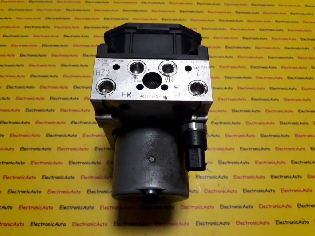 Pompa abs Volkswagen Phaeton 0265225236, 3D0614517AK