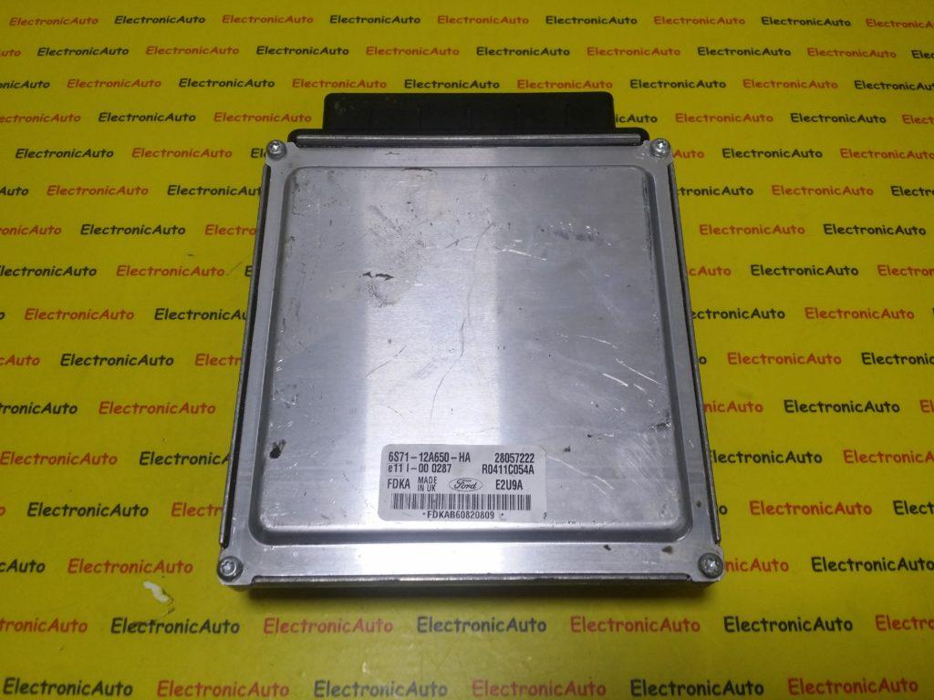 ECU Calculator Motor Ford Mondeo 2.0 TDCI, 6S7112A650HA