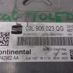 ECU Calculator Motor Seat Toledo 1.6 TDI, 03L906023QG, 03L906023Q, 5WP42962AA