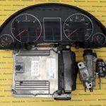 Kit pornire Audi A4 03G906016JD, 0281012654