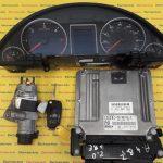 Kit pornire Audi A4 2.0TDI 03G906016JE, 0281012726