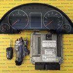 Kit pornire Audi A4 8E2910401P, 0281013841