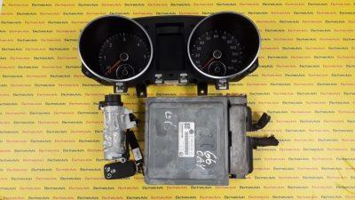 Kit pornire VW Golf 6 03L906023DQ, 5WP42810AA
