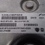 ECU Calculator Motor Fiat Doblo 1.3 JTD, 51908953, MJD8F3D3
