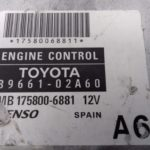 ECU Calculator Motor Toyota Corolla E12 2.0, 8966102A60, MB1758006881