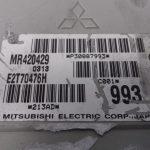 ECU Calculator Motor Volvo S40 1.8 GDI, MR420429, E2T70476H
