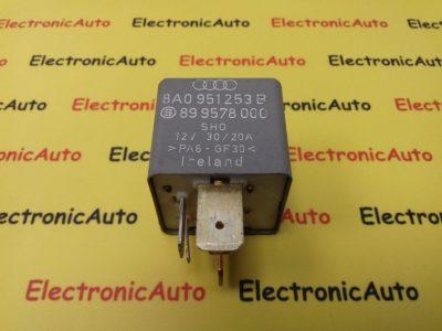 Releu Pompa Combustibil Audi A4, 8A0951253B, 899578000