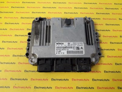 ECU Calculator Motor Citroen C5 1.6 HDI, 0281011561, 9656974780