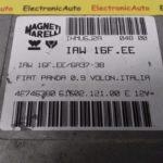 ECU Calculator Motor Fiat Panda 0.9, 46746380, IAW16FEE