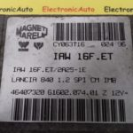ECU Calculator Motor Lancia Y 1.2, 46407320, IAW16FET, 6160207401