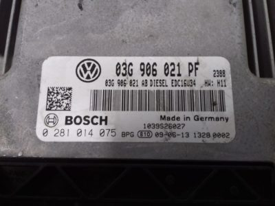 ECU Calculator Motor Vw Caddy 1.9 TDI, 0281014075, 03G906021PF