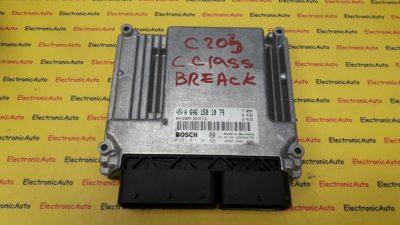ECU Calculator motor Mercedes C220 2.2CDI 0281011741, A6461501079