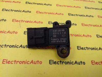 Senzor Presiune Ford, Vw, Mazda, 0261230309, AG919F479AB