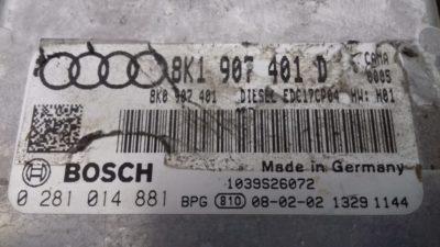 ECU Calculator Motor Audi A5 2.7 TDI, 0281014881, 8K1907401D
