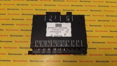 Modul control Mercedes C220 A2038201526, 05020800