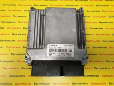 ECU Calculator motor Bmw X5 3.0 D, DDE85090360 0281016640