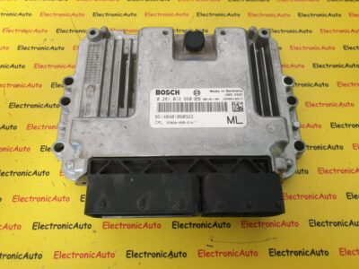 ECU Calculator Motor Honda Civic 2.2, 0281012660, 37820-RSR-E14