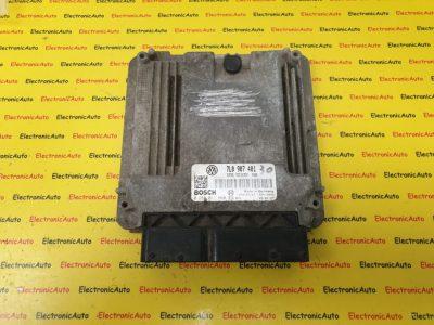 ECU Calculator Motor VW Touareg 3.0TDi, 0281011960, 7L0907401, EDC16CP34
