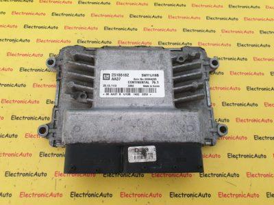 ECU Calculator Motor Chevrolet Cruze 1.6LS, GM25186182, 5WY1J19B
