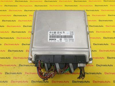 ECU Calculator Motor Mercedes A170, A6681530179, 0281010753, ED0042, CR1.2