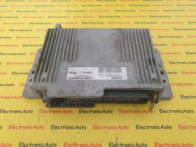 ECU Calculator Motor Renault Megane, S105300201C, HOM7700860337